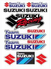 Motorcycle Emblem Decals for S Suzuki Team Reflective Car Racing Badge Stickers