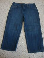 Women's CHICO'S Kessler MCP jean capris pants, 1
