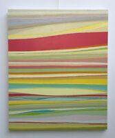 """FOUGERAND.LAURENT """" Parallèle 7 """"_Huile sur toile du 04/04/2017 _ 65 cm x 54 cm"""