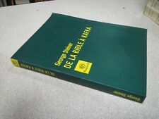 DE LA BIBLE A KAFKA GEORGE STEINER BAYARD *