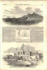 1852 submarino telegrafía eléctrica Holyhead dejar que fuera de alambre edificio de corcho