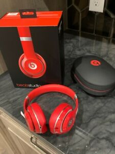 BEATS Dr. Dre Beats Studio Wireless Over-Ear Headphones RED NEW!