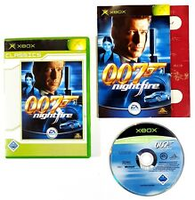 Microsoft Xbox Game James Bond 007 Nightfire Dt. Pal Original Packaging