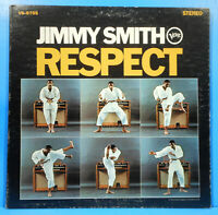 JIMMY SMITH RESPECT VINYL LP 1967 ORIGINAL PRESS RVG GREAT CONDITION! VG+/VG+!!B
