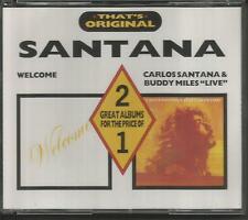 Welcome & Carlos Santana and Buddy Miles Live - Early Castle 2CD Set