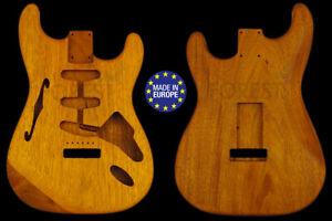 St thinline style electric guitar body mahogany honduran 1 pc