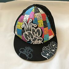 Mickey Spell out Mouse Disney Parks Skater Hat Fitted Elastic