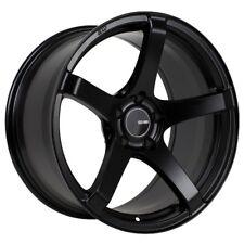 17x8/9 Enkei KOJIN 5x114.3 +35 Black Rims Fits Honda S2000 ap1 2000+