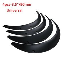 """4Pcs 3.5"""" Universal Flexible Car SUV Fender Flares Extra Wide Body Wheel Arches"""