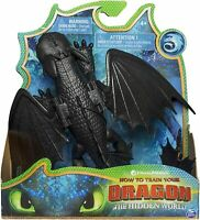 How to Train Your Dragon 3 ~ TOOTHLESS NIGHT FURY ACTION FIGURE ~ Spin Master