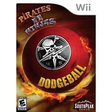 Nintendo Wii PAL version Pirates vs. ninjas Dodgeball