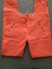COTTON ON Womens Jeans Orange Size 30 10 12 NEW Pants BNWT Skinny Leg
