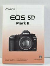 Canon EOS 5D Mark II Camera Instruction Manual User's Guide SPANISH LNC (328)