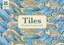 National Trust Tile Design Postcard Book