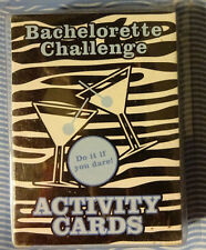 Bride to Be Card Game Bachelorette Challenge Activity Cards Do it If You Dare