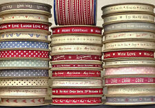 NEW EAST OF INDIA LARGE SELECTION OF RIBBON - 1 & 3 METRES - CHOICE 50 RIBBONS