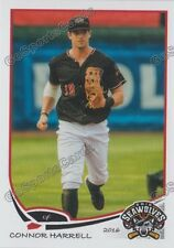 2016 Erie SeaWolves Connor Harrell RC Rookie Tigers