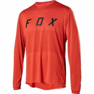 Fox Racing Ranger Fox Long Sleeve L/S Jersey Orange Crush