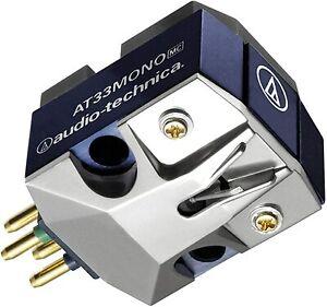 Audio Technica AT-33MONO MC type Moving Coil Mono Cartridge Free Shipping New