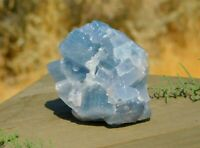 Blue Calcite Rough Chakra Stone 169g to Calm the Mind & Body for Energy Healing