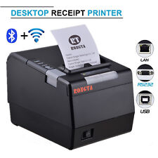 300mm/s Direct Thermal Printer 80mm Wifi Receipt Printer with Flash Light Alert