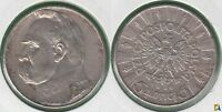 POLONIA - POLSKA. 5 ZLOTYCH DE 1936. PLATA 0.750.