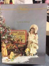 Phillips giocattoli e bambole ORSI diecasts ASTA CATALOGO 22-12-1992