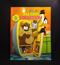 Giant Looney Tunes All-Star Collection Coloring & Activity Book Landoll w Poster
