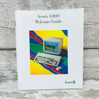 Vintage Acorn A3010 Welcome Guide Manual Booklet Computing Original