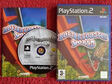 ROLLERCOASTER WORLD ORIGINAL BLACK LABEL SONY PLAYSTATION 2 PS2 PAL