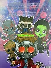 Marvel Hot Toys Bobble-Head Guardians of the Galaxy Vol.2 Cosbaby Set