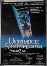 DS726 - Gerollt/KINOPLAKAT - UNHEIMLICHE SCHATTENLICHTER/Twilight Zone 1983