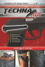 Techna Clip for Ruger® LCP .380 - IWB Belt Clip Technaclip LCP-BR (Right Side)
