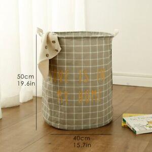 Stand Laundry Basket Toy Storage Box Washing Dirty Cloth Large Basket Organizer