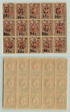 Armenia 1919 SC 152B MNH block of 15 . e7812