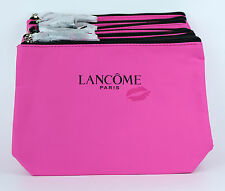 New! Wholesale Lot of 10 x Lancome Frech Kiss Pink Cosmetic Makeup Bag Pouch