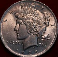 1923  Philadelphia Mint Silver Peace Dollar