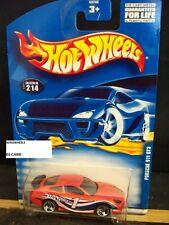HOT WHEELS 2001 #214 -1 PORSCHE 911 GT3 3SP 01C