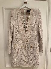 Peace + Love Cream Lace Dress Size 12