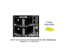 ABER 35163 - 1/35 PHOTOETCHED FOTOINCISIONI GERMAN 75mm ANTI-TANK GUN PaK 40