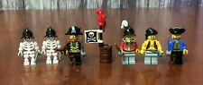 Lego Pirates Armada Army Builder Lot- Minifig Crew Captain Conquistador Skeleton