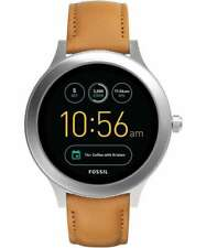 Fossil Gen 3 Smartwatch Q Venture Luggage Leather - FTW6007 42mm Stainless Steel