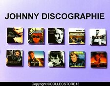 SERIE COMPLETE DE FEVES JOHNNY HALLYDAY DISCOGRAPHIE   2021