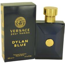 20a98dca7 Versace Dylan Blue by Versace 3.4 oz Perfumed Deodorant Spray for Men New  In Box