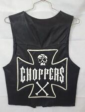 Handmade Leather Custom Choppers Men's Biker Vest M