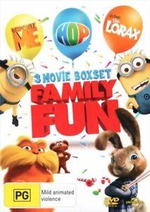 Despicable Me / Dr. Seuss' The Lorax / Hop DVD
