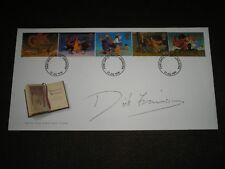 1998 GB Stamp FANTASY NOVELS FDC Signed DICK FRANCIS Jockey DEVON LOCH LEICESTER
