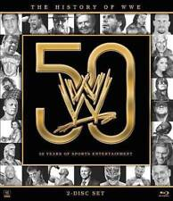 The History of WWE: 50 Years of Sports E Blu-ray