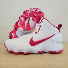 Nike Hyperdunk 2017 Kay Yow Breast Cancer Awareness Pink White SZ (897631-100)