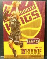 2016-17 Panini Threads Wood Rookie RC #247 Buddy Hield Sacramento Kings